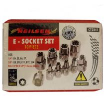 E-Socket Set 10 Piece